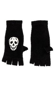 Skull Cashmere Gloves 360CASHMERE $138