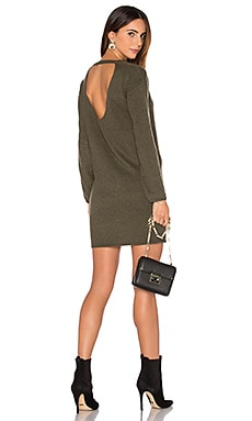 Daniella Cashmere Sweater Dress in Loden