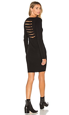 Karah Sweater Dress in Black
