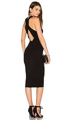 Christi Bodycon Dress in Black