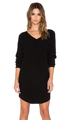 Dee Sweater Dress in Black