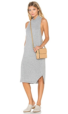 Deana Sweater Dress en Gris Chiné