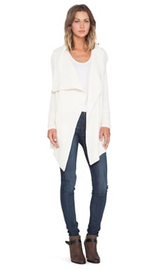 360 Sweater Abigail Cardigan in Ivory
