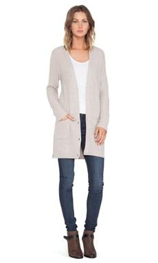 360 Sweater Amber Cardigan in Oatmeal