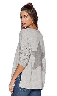 360 Sweater Sloane Sweater in Heather Grey