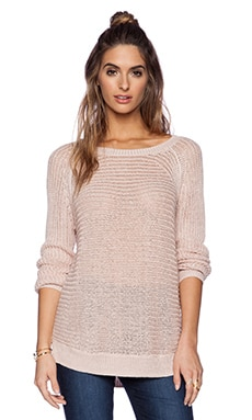 360 Sweater Rea Sweater in Blush
