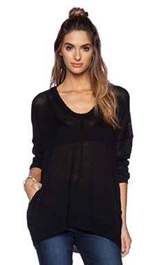 360 Sweater Trudy Sweater in Black