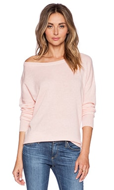 360 Sweater Ellis Pullover in Carnation