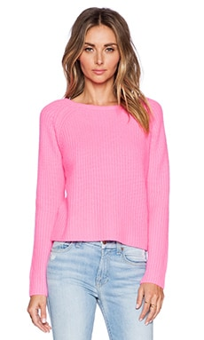 360 Sweater Scotti Sweater in Electric Pink