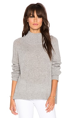 360 Sweater Roos Sweater in Mid Heather Grey