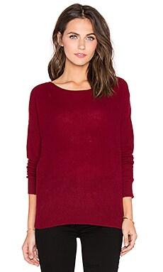 360 Sweater Lari Sweater in Oxblood