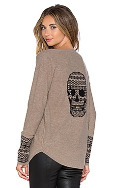 360 Sweater Malady Sweater in Pebble & Black
