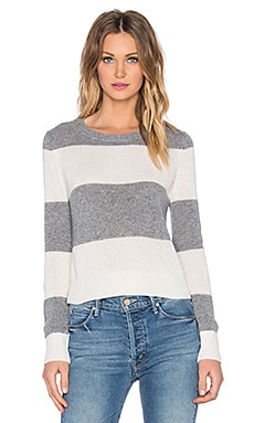 360 Sweater Kanan Sweater in Flannel & White Stripes