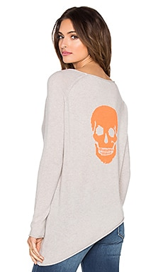 360 Sweater Outlaw Skull Sweaterl in Sand & Laser Skul