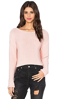Rocky Barnes for 360 Sweater Fiji Sweater in Pink