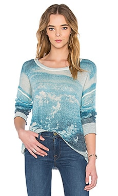 Pontus Crew Neck Sweater en Blue Sky Jack