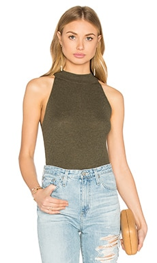 360 Sweater Hera Sleeveless Turtleneck Sweater in Logen