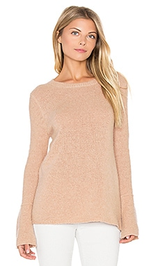 Selene Bell Sleeve Sweater en Kid Glove