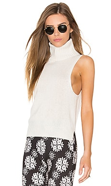 x Rocky Barnes Cambry Sleeveless Sweater in Chalk