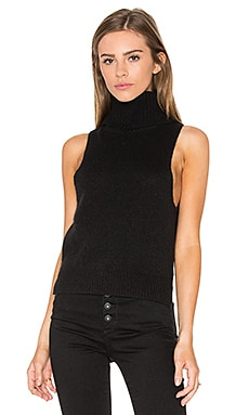 x Rocky Barnes Cambry Sleeveless Sweater in Black