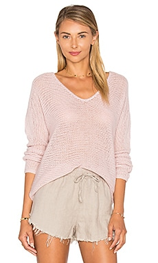 Giselle Sweater en Rose