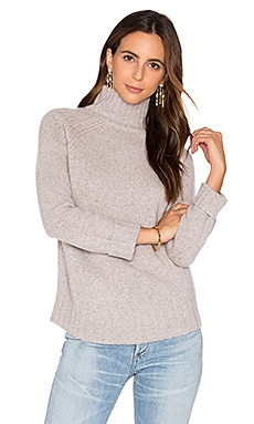 360 Sweater Europa Cashmere Turtleneck Sweater in Marble