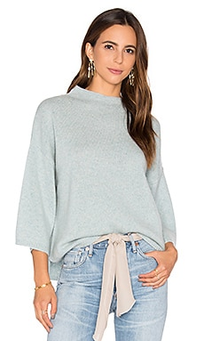 Shani Cashmere Sweater in Algae