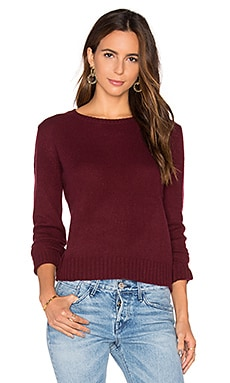 Nini Cashmere Sweater en Bordeaux