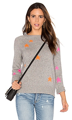 360 Sweater Ceres Cashmere Star Sweater in Festival Star