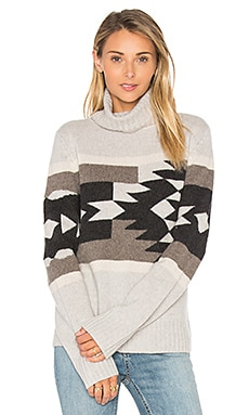 Willa Tribal Sweater in Shitake, Cinder & Antler