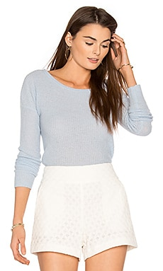 Ambrielle Cashmere Sweater in Wedgewood