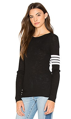 Aliz Stripe Band Sweater