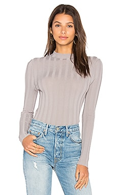 Amalie Mock Neck Sweater