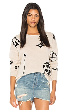 Xandra Skull Sweater
