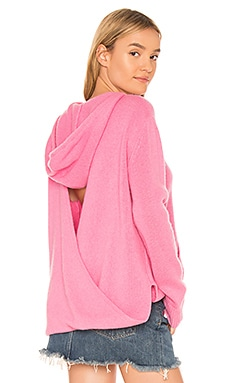 Bow Hoodie 360CASHMERE $165
