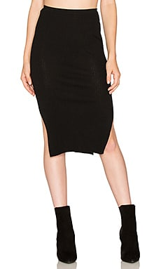 x Hanna Beth Manuela Skirt in Black