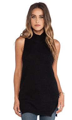 360 Sweater Logan Top in Black