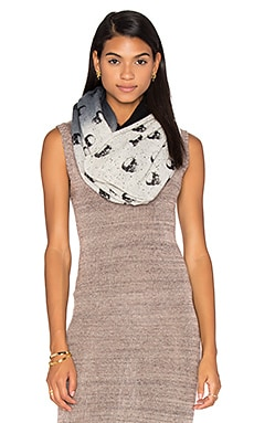 Cashmere Skull Infinity Scarf