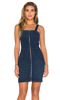 Zip Front Mini Dress in Athens