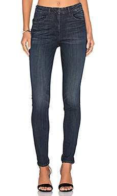 Channel High Rise Skinny in Strike
