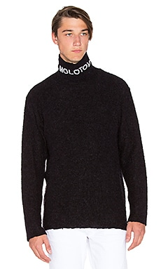 424 Molotov Turtleneck in Black