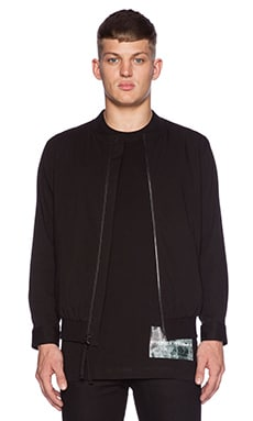 424 Bomber Jacket in Black