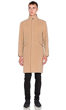 424 Wool Trench in Camel