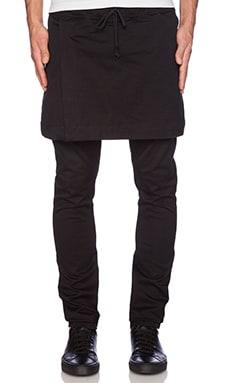 424 Skirt Pants in Black