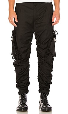 424 Twill Cargo Pant in Black