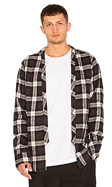 Flannel Throwover Shirt