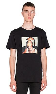 424 Tupac S/S Tee in Black