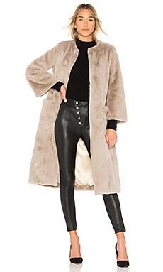Пальто из искусственного меха long - 5149