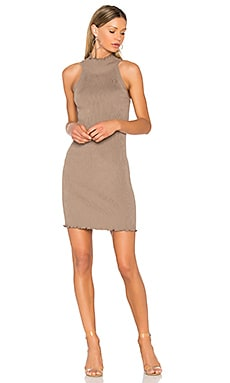 Mock Neck Sweater Dress em Beechwood