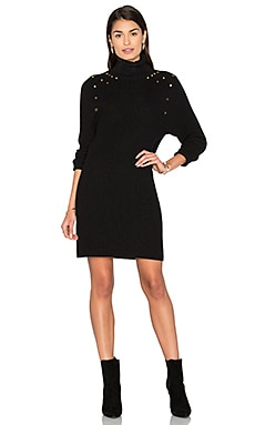 Sweater Dress in Schwarz